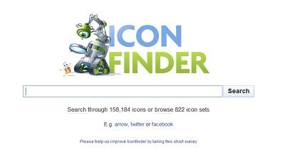 Icon Finder trouvez l'icon idéale pour votre blog ou site web