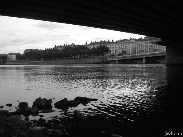 Lyon sous les ponts